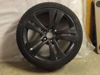 "Spare 17"" alloy wheel and tyre for Skoda/Audi"