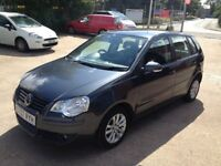 07 VOLKSWAGEN POLO 1.4S(80PS)5DR 63000MILES FSH 1 OWNER £2975