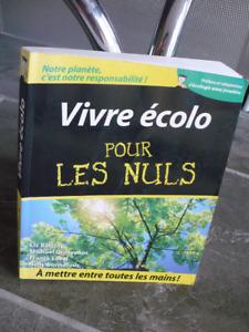 VIVRE ÉCOLO POUR LES NULS