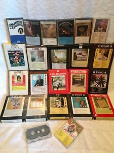 23 Country 8-Track/Cassette Tapes