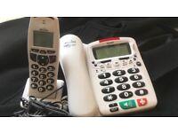Binatone big button speakeasy combo phone set
