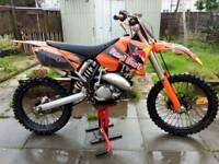 Ktm 125 not long had new piston 1350 or nearest