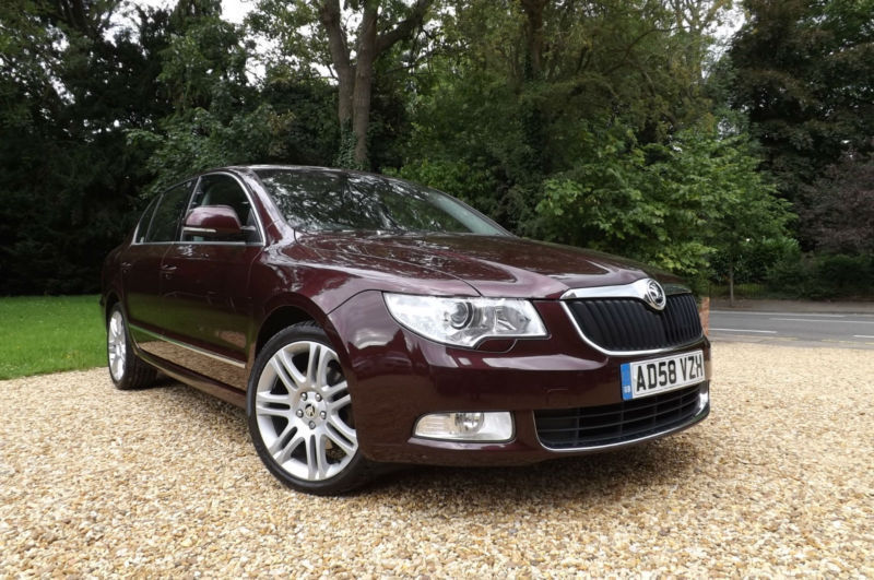 2008 58 Skoda Superb 2.0TDI PD 140 Elegance FULLY LOADED TOP SPEC FSH SAT NAV