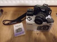 Canon EOS 40D SLR digital camera and 17 to 88 EFS lens