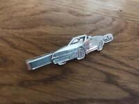 Mercedes sterling silver tie clip.