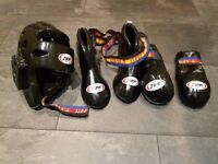 Martial arts kids sparring gear