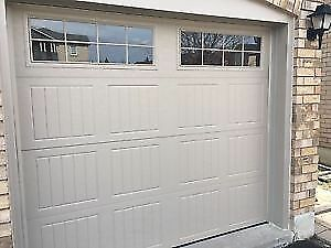Garage Door With Windows Installed $800 CASH
