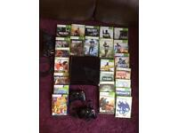 Xbox360 slim with games bundle