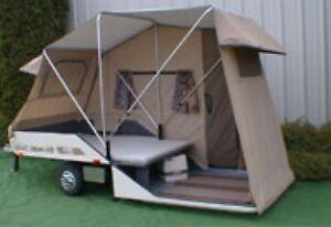 Bike-Auto tent trailers