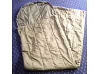 British Army Jungle Sleeping Bag - Synthetic Filled - One Season (summer use)