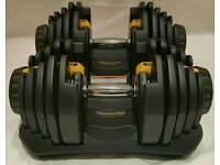 Adjustable Dumbbells weights 80kg not bowflex