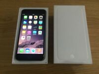 APPLE IPHONE 6 16GB SPACE GREY,FACTORY UNLOCKED,MINT CONDITION COMES BOXED