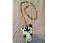 Chanel style Bear Necklace