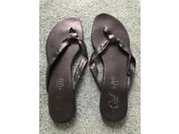 Ladies New Look Summer Flip-Flops ~ Size 7