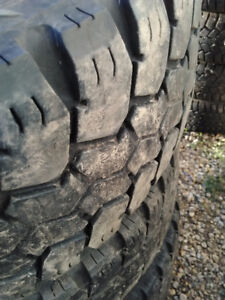 LT285/70R17 USED Nitto HD Grappler Severe Service