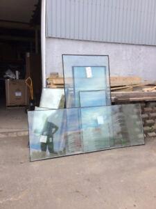 vitres (teintées et non-teintées) et thermos
