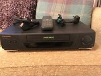 Panasonic VCR player/recorder