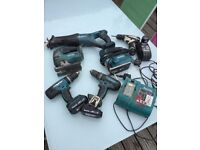 Makita power tool bundle.