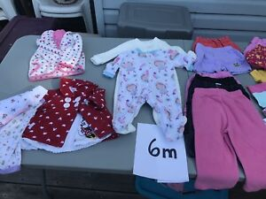 Girls Clothes Size 6 months