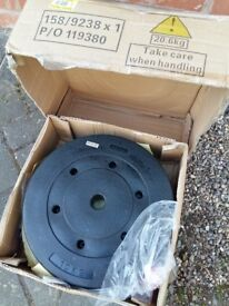 10KG VINYL WEIGHT PLATES