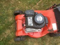 Sovereign petrol lawn mower