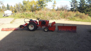 Garden Tractor with attachments