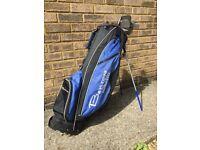 Golf Clubs and Benross Bag