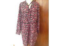 TU tulip style dress size 16 pristine