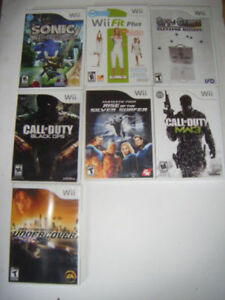 14 Wii Games for sale..