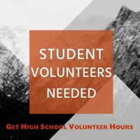 Youth Volunteers Needed