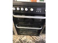 Hotpoint full gas cooker 60cm black edition