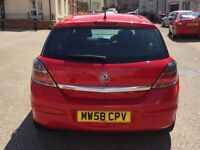 Vauxhall Astra 1.4 i 16v Active 5dr 2009 Long MOT Service History Part exchange welcome