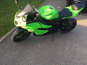 Zx6r comme neuf