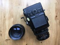 Zenza Bronica SQa with 80mm/150mm lenses