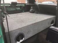 Honda Civic 92-96 EG False Floor Bootbuild Hatchback Custom Made