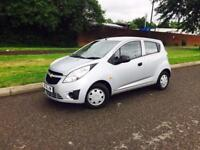 CHEVROLET SPARK 995cc 5 DOOR 2012 only 35000 MILES 1 OWNER £30 yearly road tax £2495