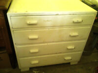 Antique White Chest of Drawers