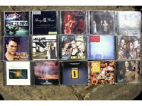 30 x POP AND ROCK CD LP'S - MIXED OLD AND NEW