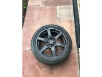 BSA ALLOY WHEELS