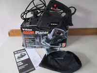 WICKES 650W ELECTRIC PLANER-BOXED-INSTRUCTION MANUAL-82 MM PLANING WIDTH-COLLECT OSSETT, WAKEFIELD.
