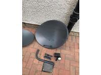 Used satellite dish 25 each