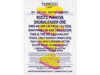 FarmFest Ticket with weekend camping