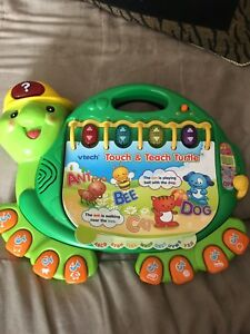 Touch and teach turtle toy