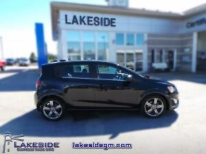 2015 Chevrolet Sonic RS  - one owner - ex-lease - non-smoker - C