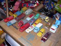 Spot On Corgi Dinky Matchbox diecast cars lorrys tractors vintage