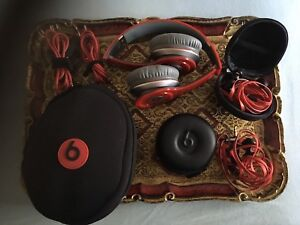 Beats solo and two monster beats wired buds