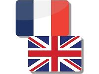 French/English translation/transcript service