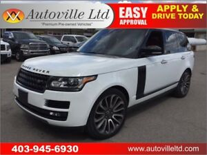 2013 Land Rover Range Rover SC Autobiography REAR SEAT PACKAGE