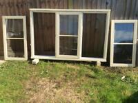 HARDWOOD WINDOW 1745mm wide X 1127mm high