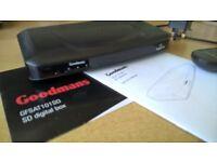 Goodmans GFSAT101 SD freesat/digital box